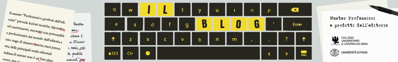 Master editoria blog degli studenti