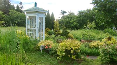 La cabina del Telefono del Vento a Bell Gardia
