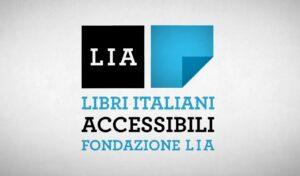 logo della Fondazione LIA - Libri Accessibili Italiani